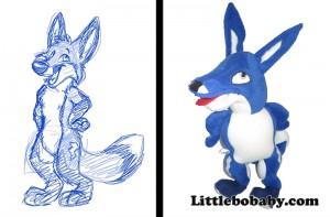 Lbb BlueFox PlushToy
