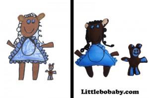 Lbb Girlwithteddy PlushToy
